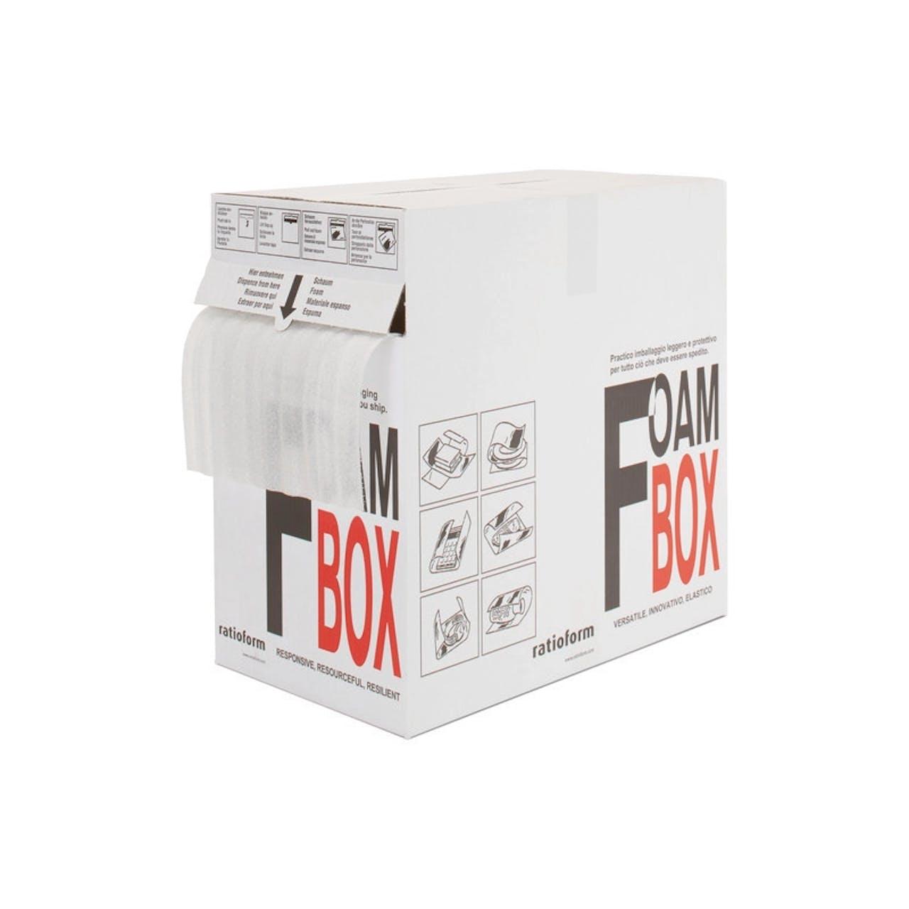 FoamBox Schaumfolie im Spendekarton