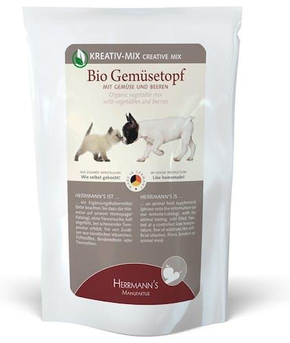 Herrmann's - Ergänzungsfutter - Bio-Gemüsetopf (getreidefrei)