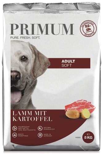 Primum - Trockenfutter - Soft Lamm mit Kartoffel (getreidefrei)