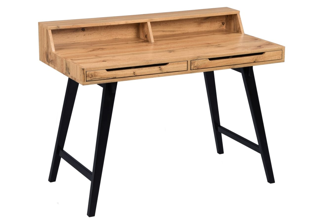 Schreibtisch Stockholm in wildeiche Nachbildung