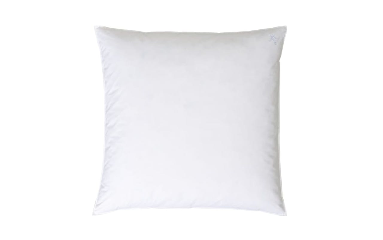 Dreikammer-Kopfkissen Classic in weiß, 80 x 80 cm