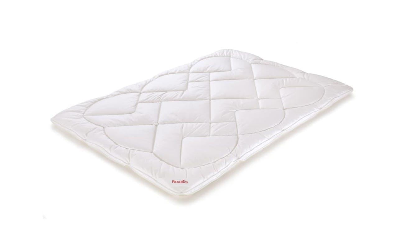 Bettdecke Anela Bio Varietta in weiß, 135 x 200 cm