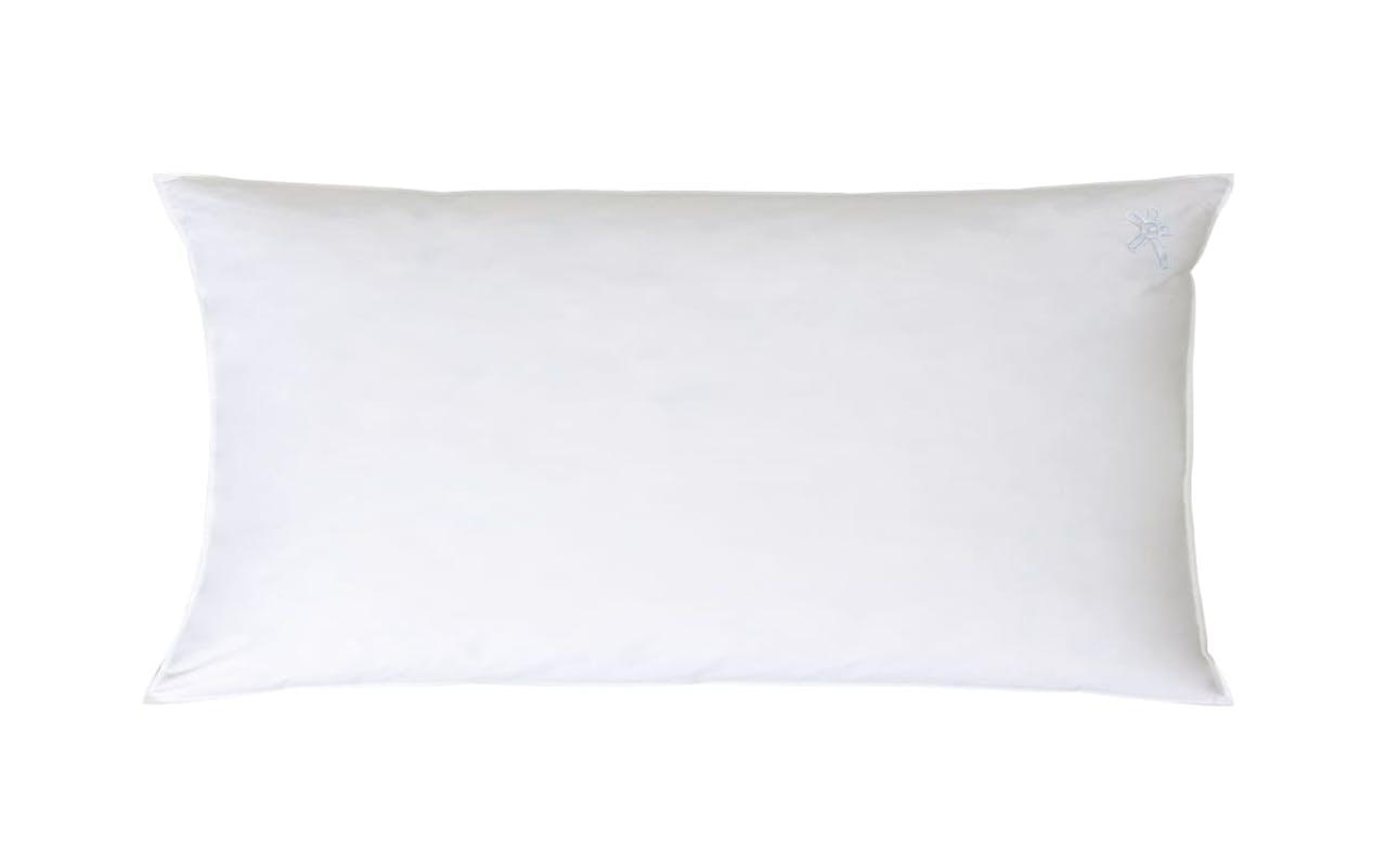 Dreikammer-Kopfkissen Classic in weiß, 40 x 80 cm