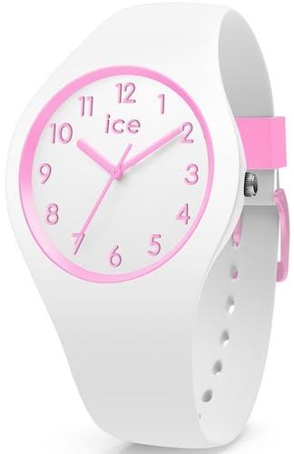 Montre ICE-WATCH OLA KIDS Enfant avec Boitier Rond 35.5 mm et Bracelet Silicone Blanc