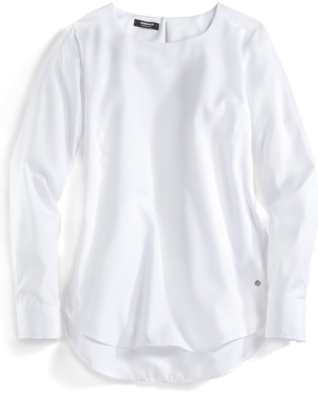 Extraglatt Pima Cotton Shirtbluse