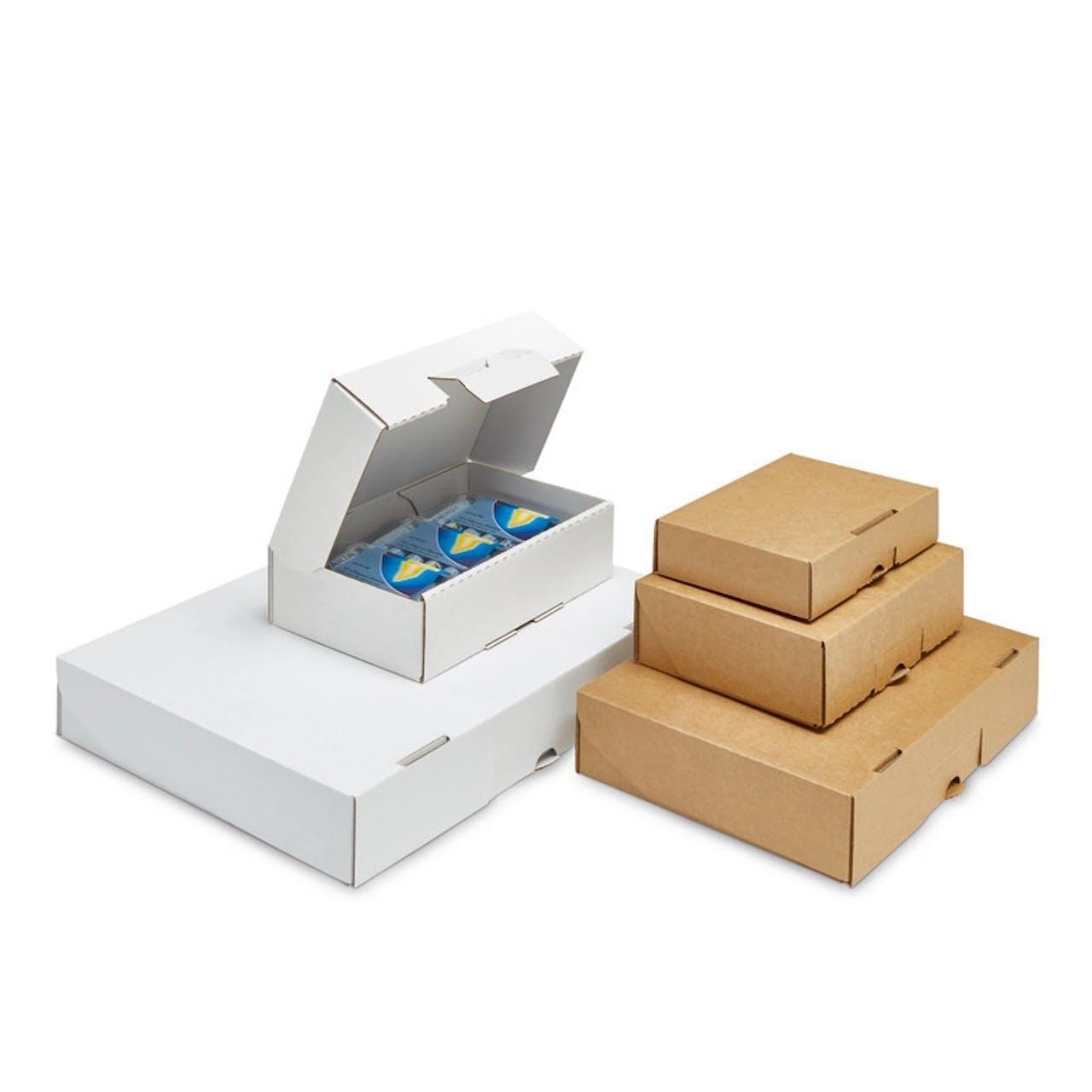 Caisse carton à rabat, Var: 569-14