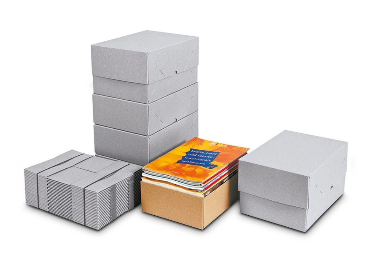 Caisse carton pliante télescopique, Var: SA25