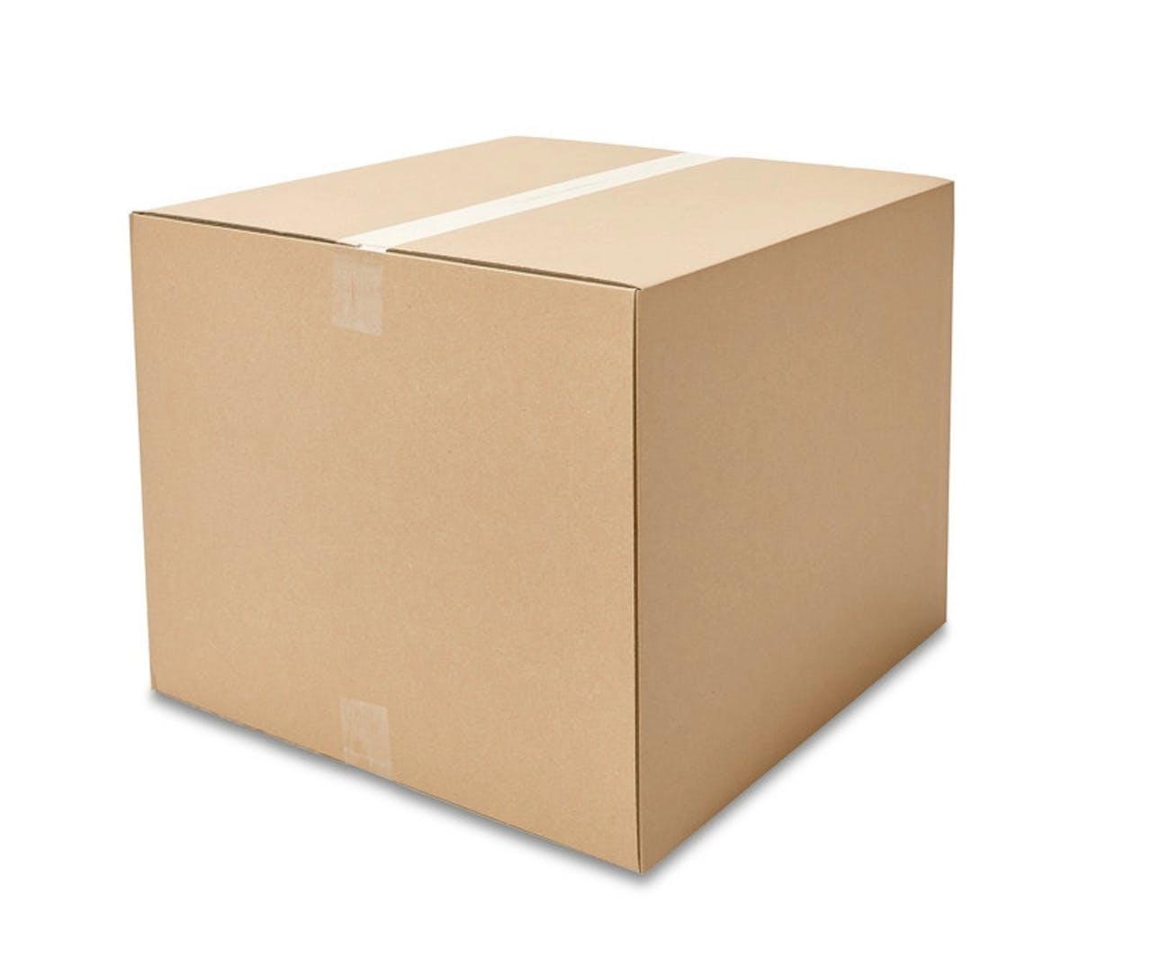 Caisses pliantes carton ondulé ECONOMY, 500à 599mm de longueur