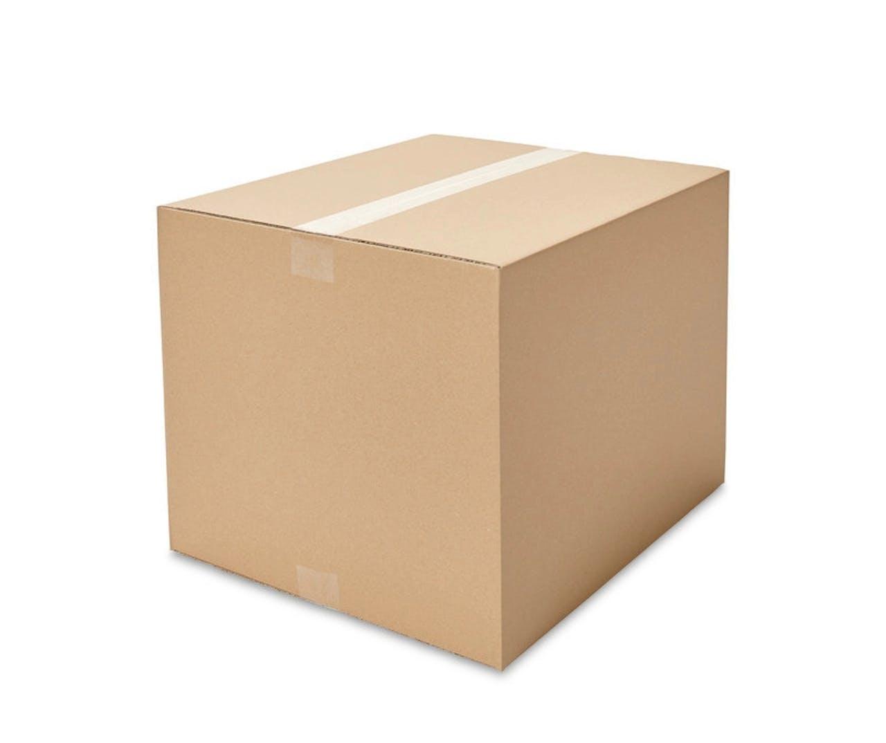 Caisses pliantes carton ondulé ECONOMY, 400à 449mm de longueur, Var: ekz106