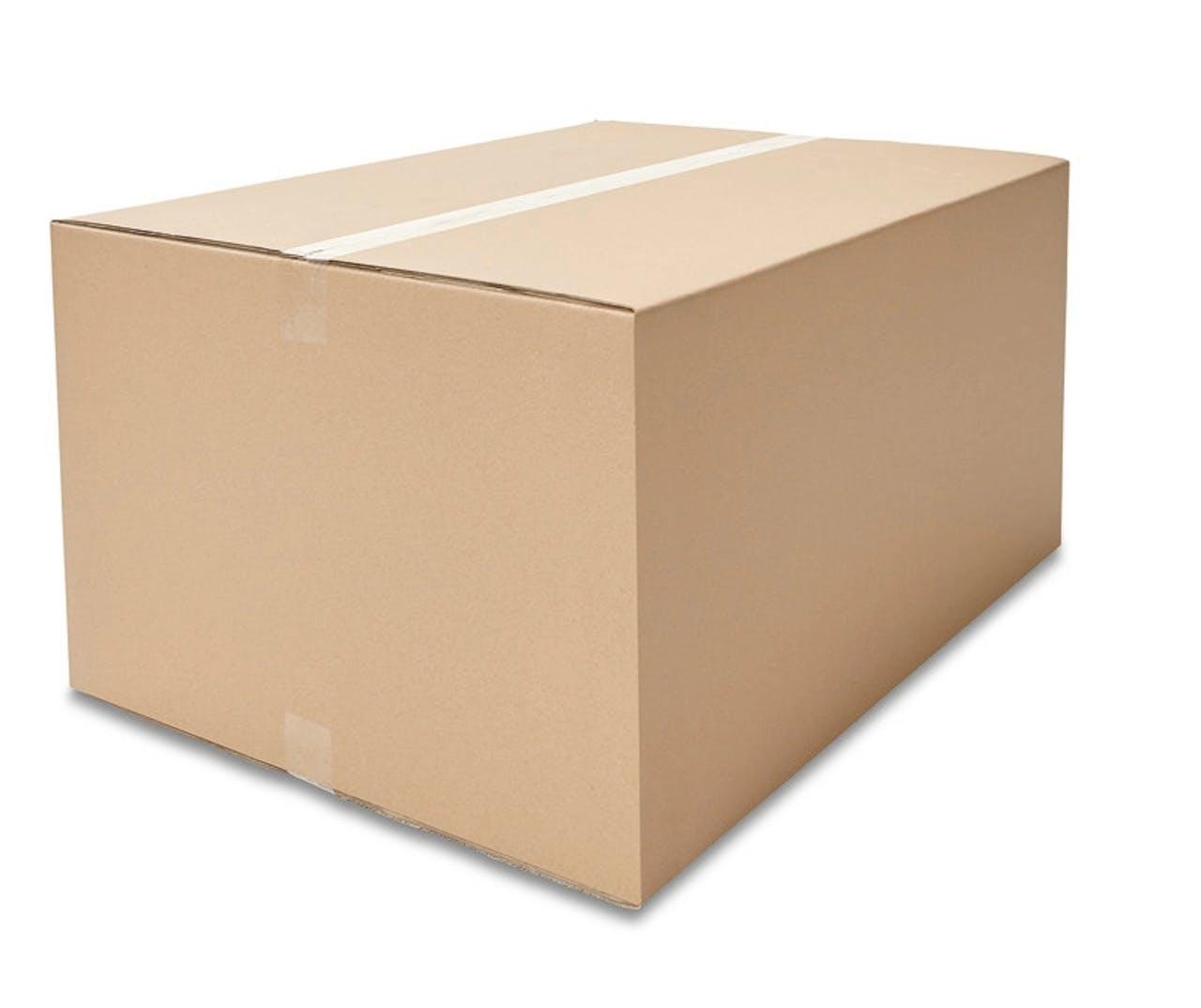 Caisses pliantes carton ondulé ECONOMY, 600à 799mm de longueur