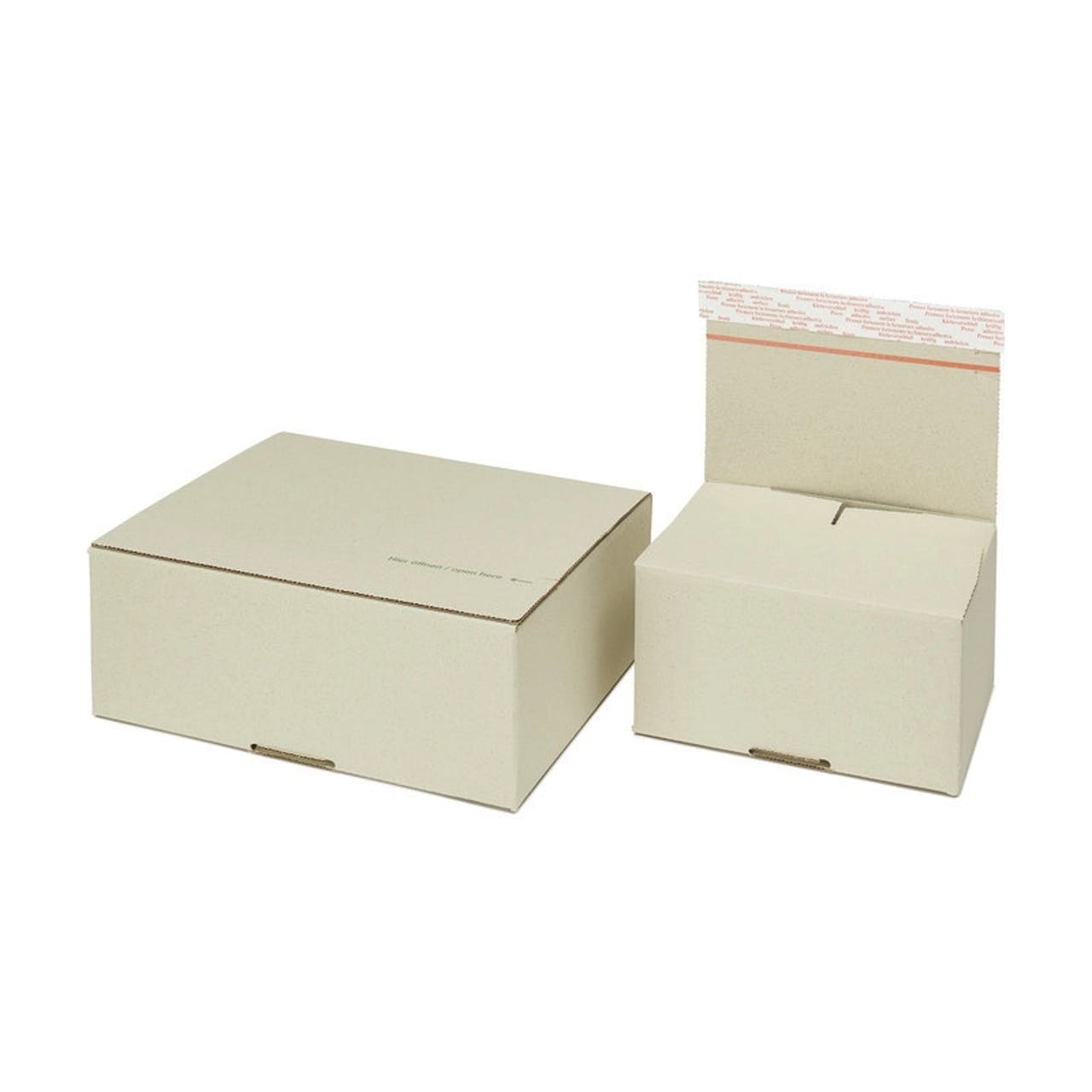 Carton Speedbox en papier à base d'herbe terra, Var: spxg1