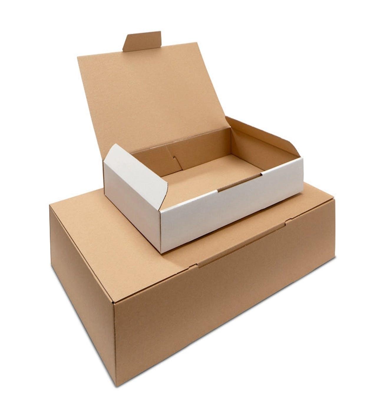 Caisse carton à rabat ECONOMY
