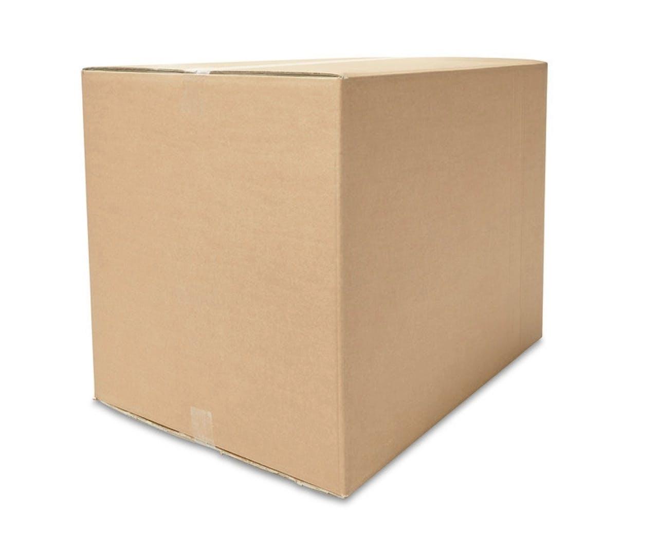 Caisses pliantes carton ondulé ECONOMY, à partir de 800mm de longueur