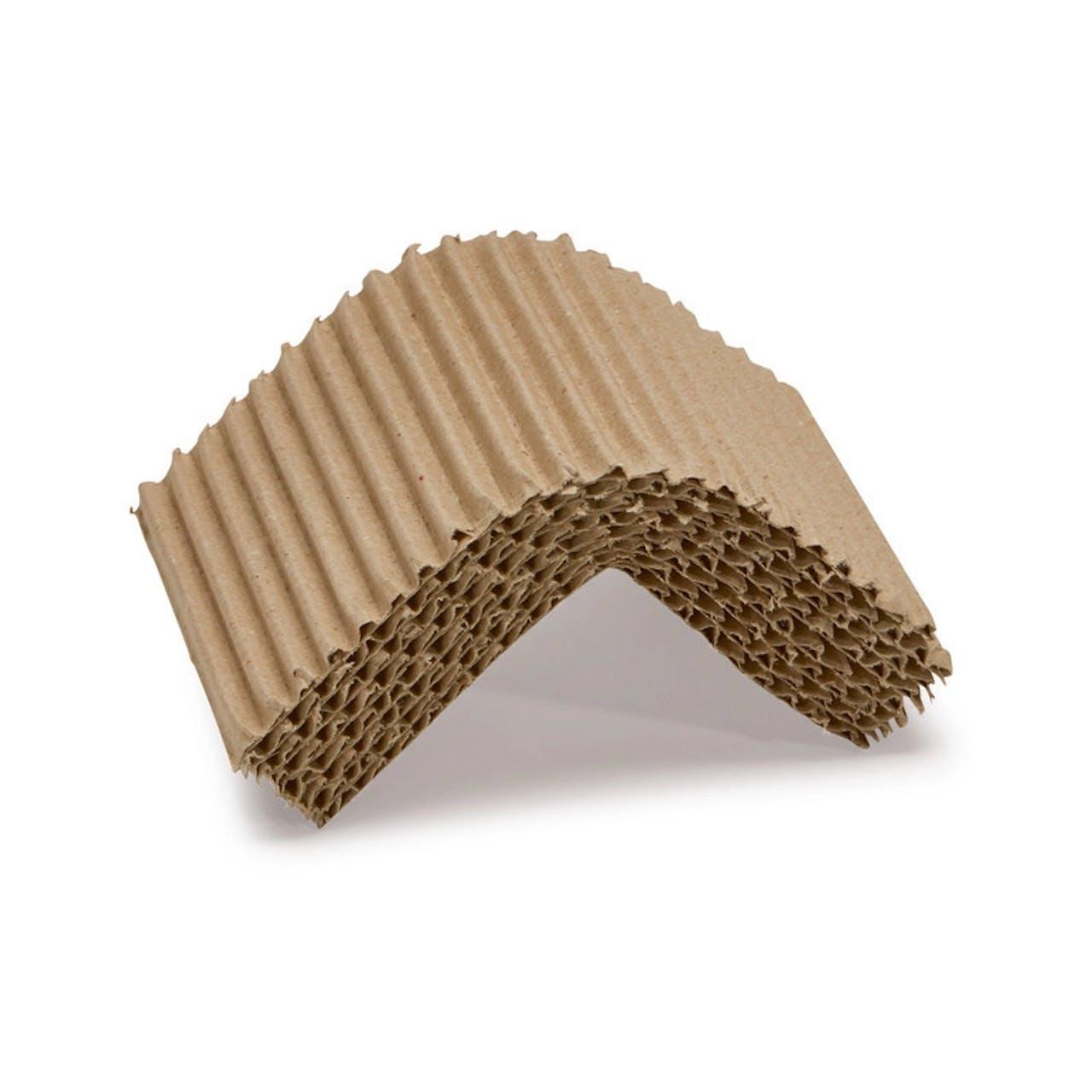 Calage carton ondulé terra, Profilé en L
