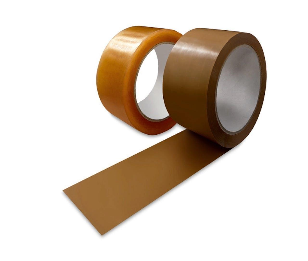 Ruban d'emballage PP ECONOMY (caoutchouc naturel)