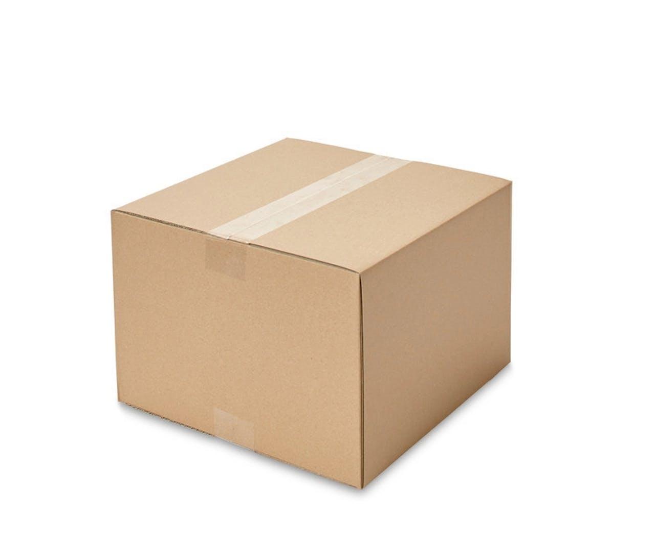 Caisses pliantes carton ondulé ECONOMY, 200à 299mm de longueur