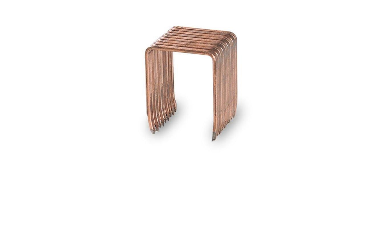 Agrafes pour agrafeuse caisse carton pneumatique, Var: HKJ38
