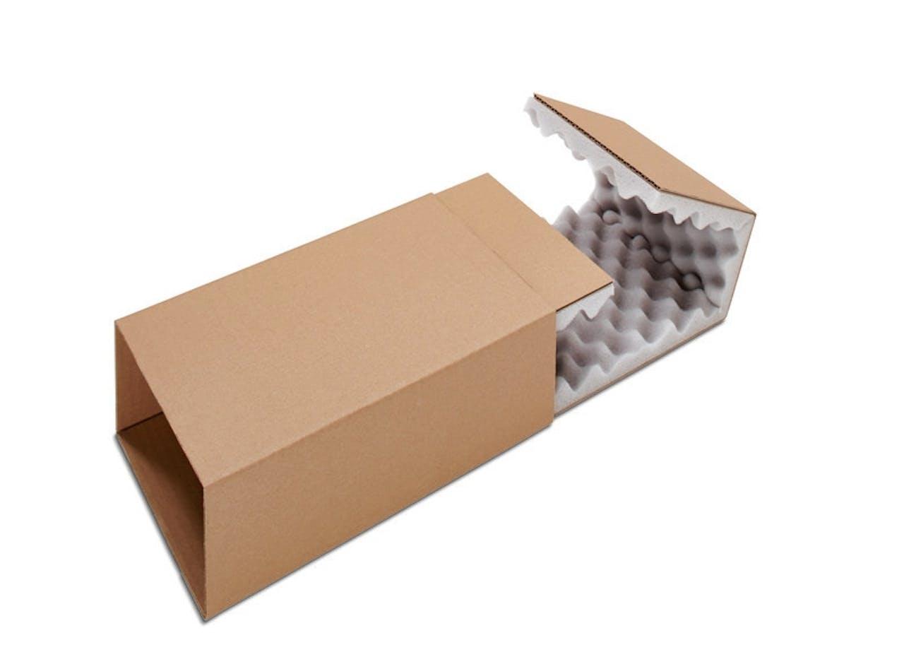 Boîte postale avec calage mousse ECONOMY