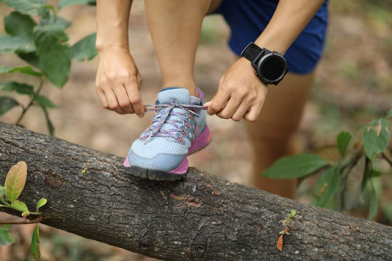 Trailrunning mit Fitness-Tracker