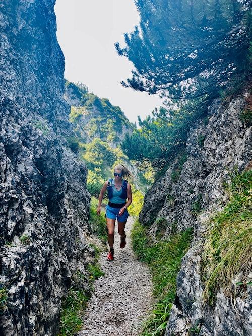 Trainingslauf Trailrunning Salomon Ultraglide