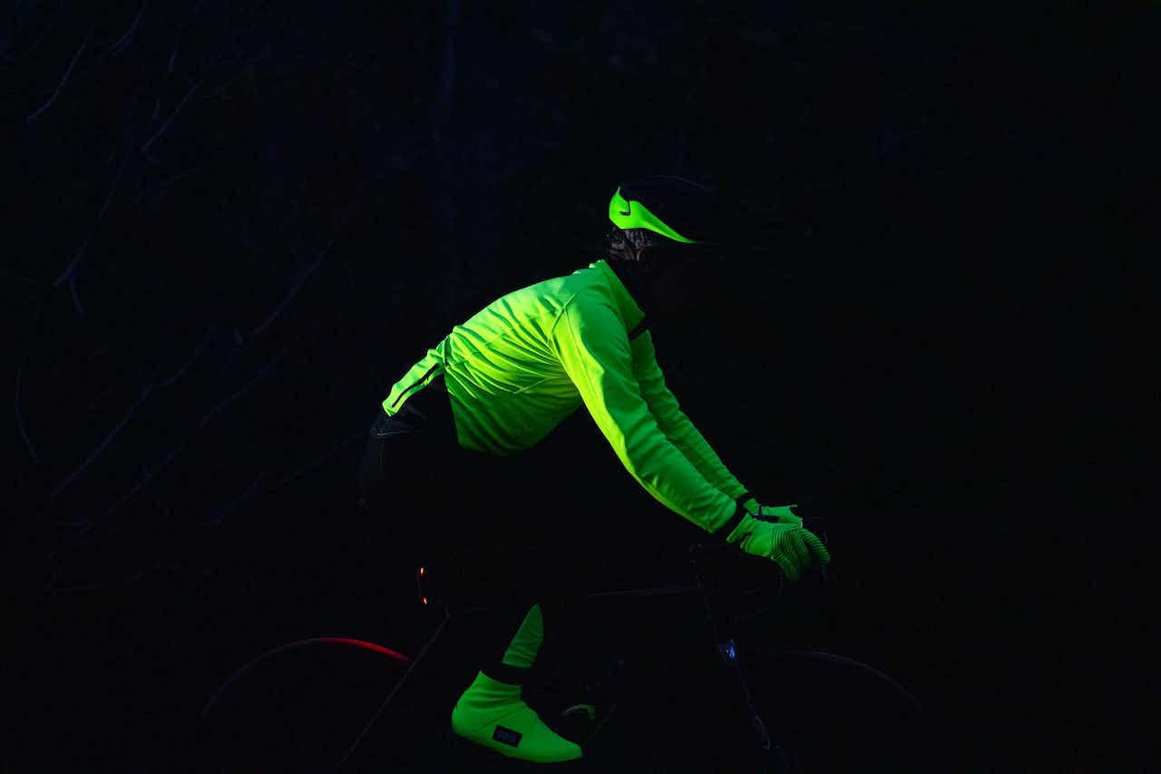Fahrradfahren im Dunkeln
