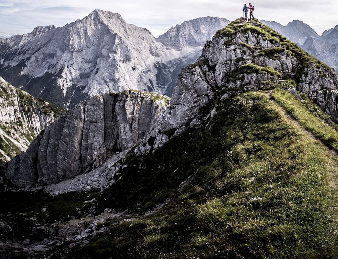 Wandern Berge Outdoor Sport