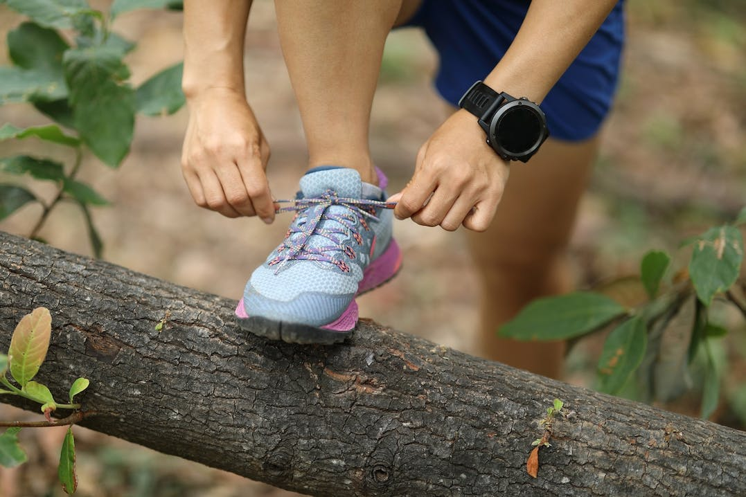 Trailrunning mit Fitness-Tracker