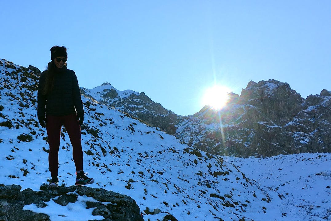 Adidas Free Hiker am Berg