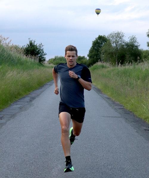 David Schönherr testet den Nike Alphafly