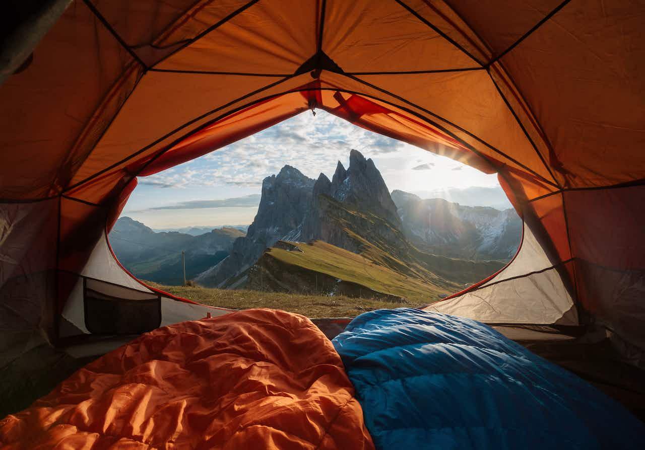 wildcampen in den Bergen