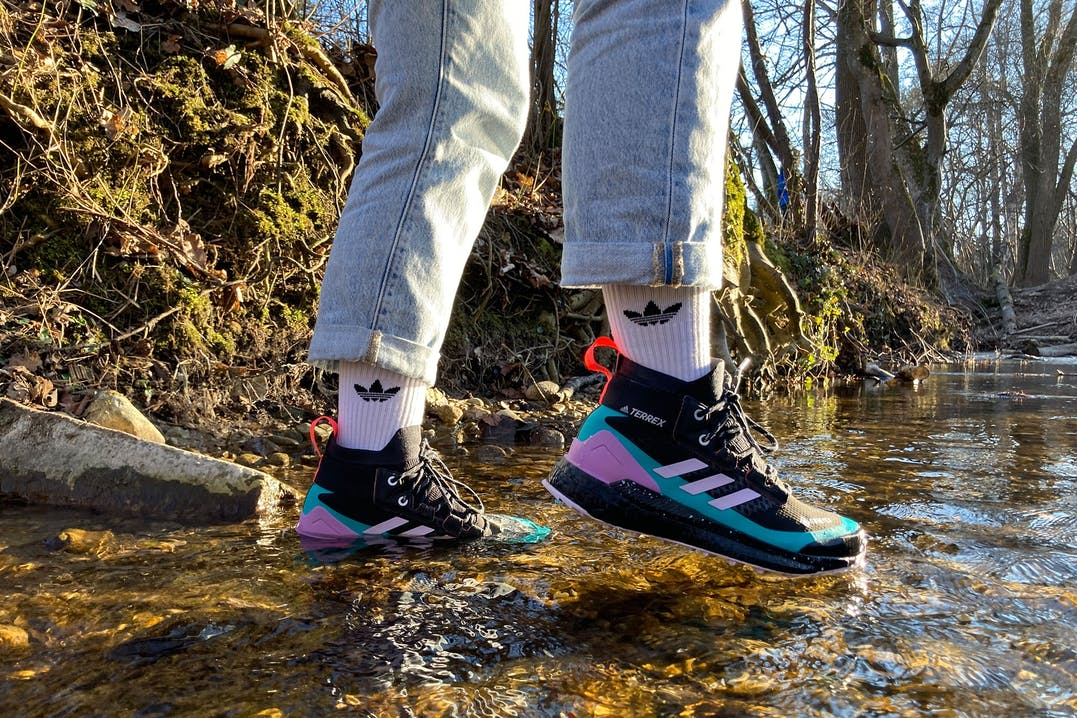 Adidas Free Hiker ist wasserdicht