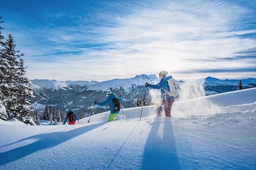 Winterwanderung in Davos