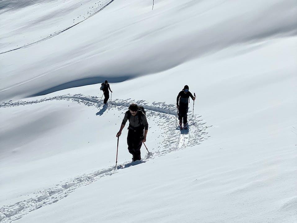 Skitouring in Arosa