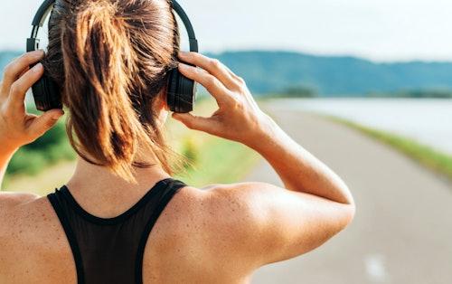 Podcasts beim Laufen