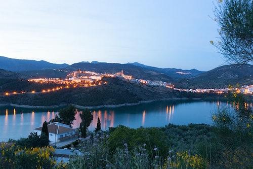 Iznajar Stausee Andalusien