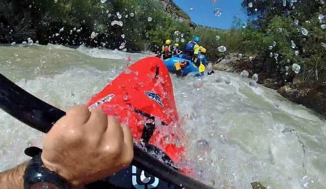 Wildwasser-Kajaktour auf dem Genil