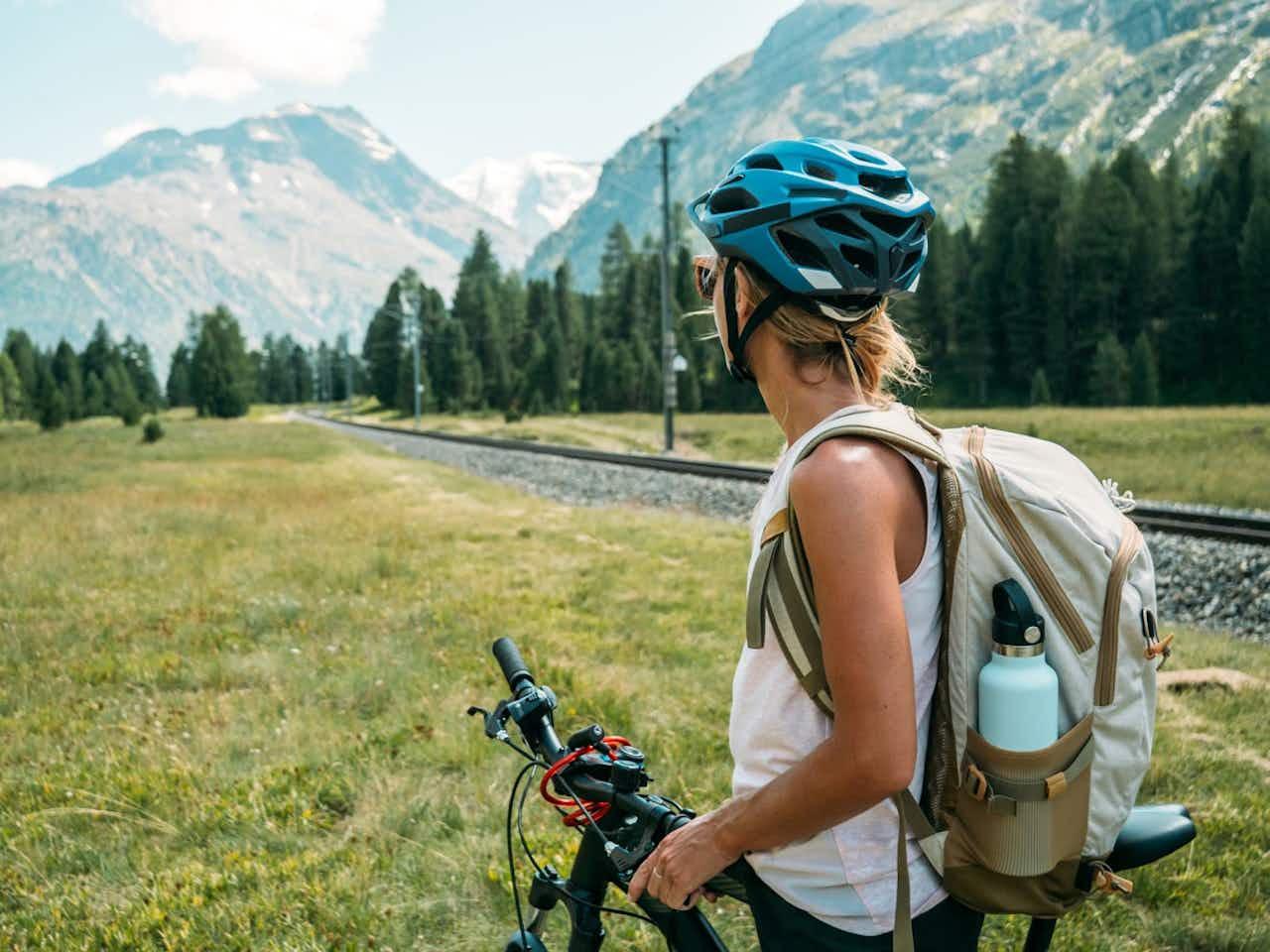 Mountainbiking Fahrradhelm