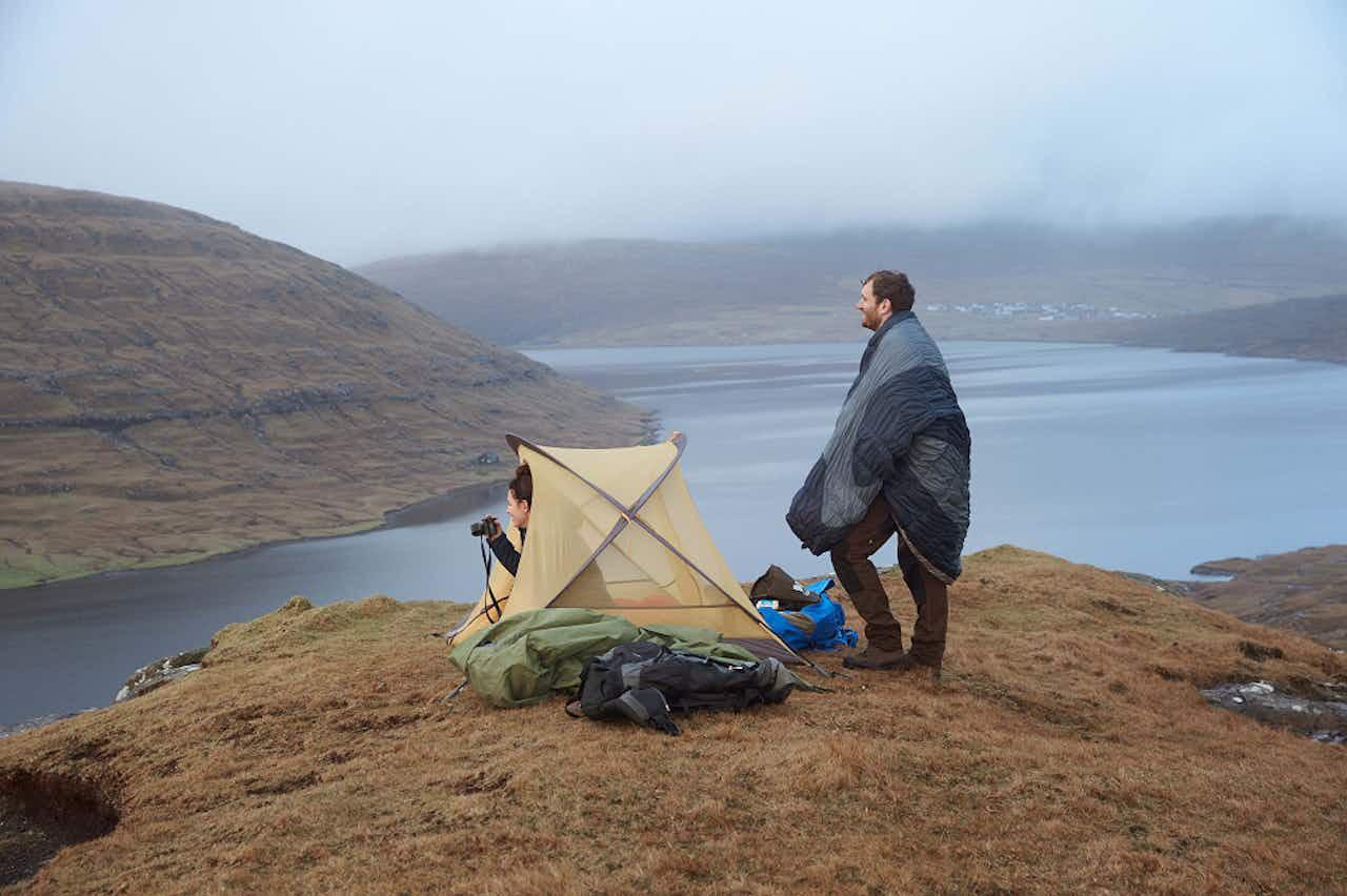 Wildcampen mit Zelt