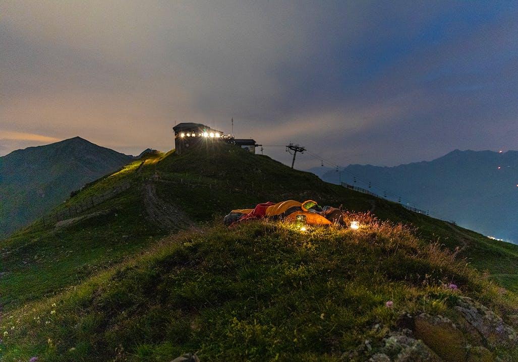 Übernachten unterm Sternenhimmel in der Schweiz