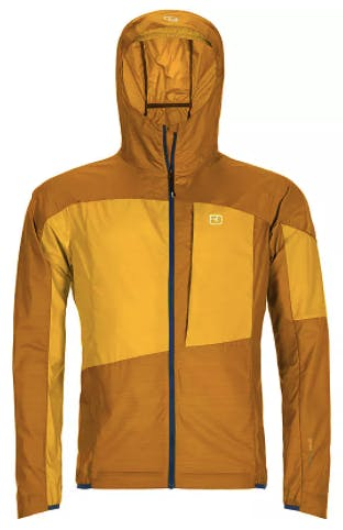 Ortovox Merino Windbreaker Herren yellowstone