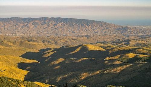 Landschaft in Almeria, Andalusien
