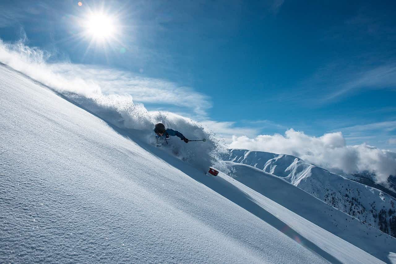 Freeriden in Davos