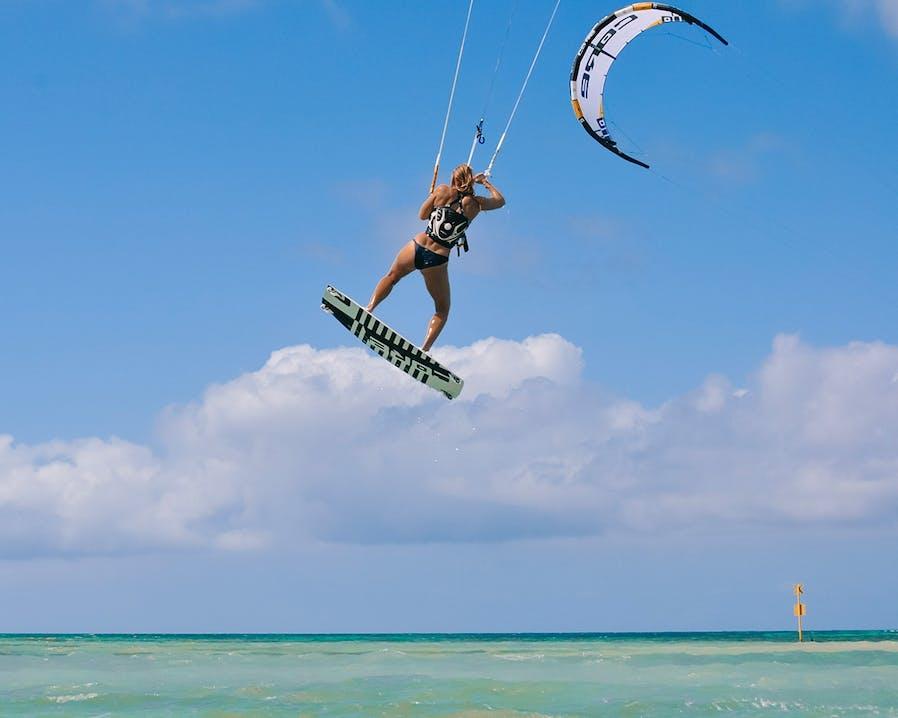 Kitesurfen in der Karibik