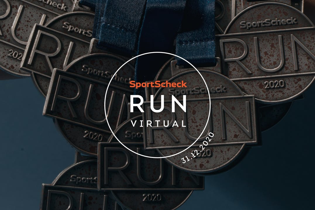 SportScheck Virtual Run 2020 Medaillen