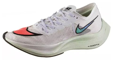 NIKE ZOOMX VAPORFLY NEXT% - LAUFSCHUHE WHITE-FLASH CRIMSON-BLACK-HYPER JADE
