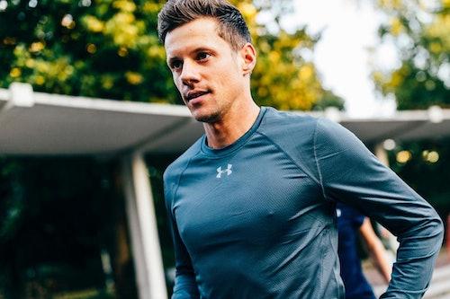 Marathonläufer David Schönherr