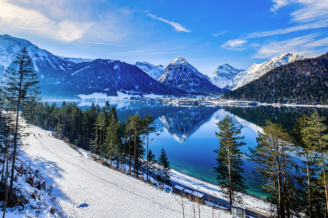 Winterwandern am Achensee