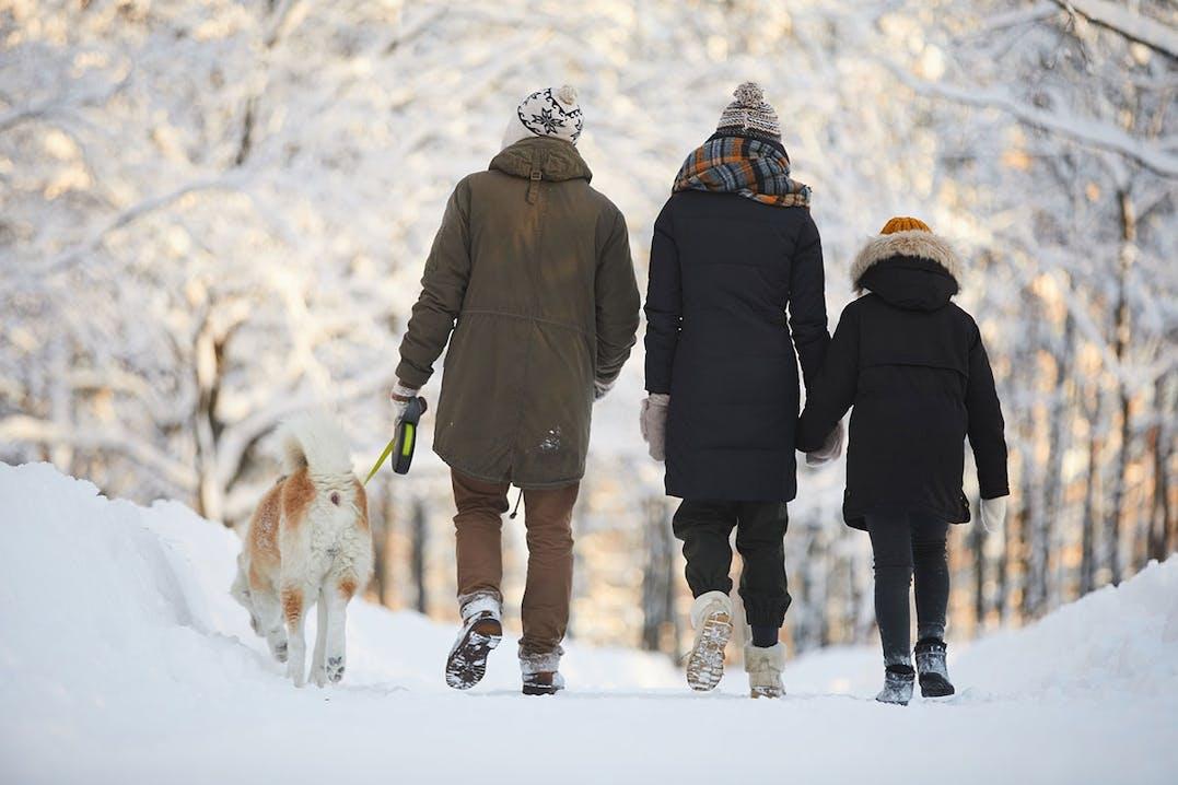 Winterwandern mit der Familie