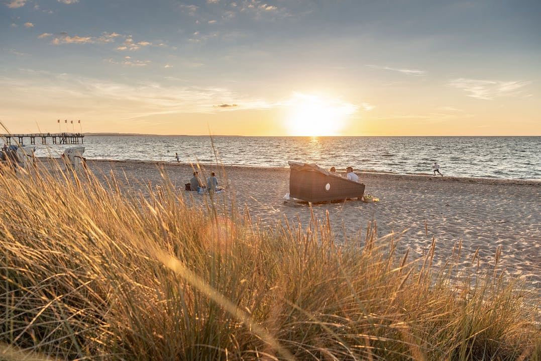 Schlafstrandkörbe Ostsee