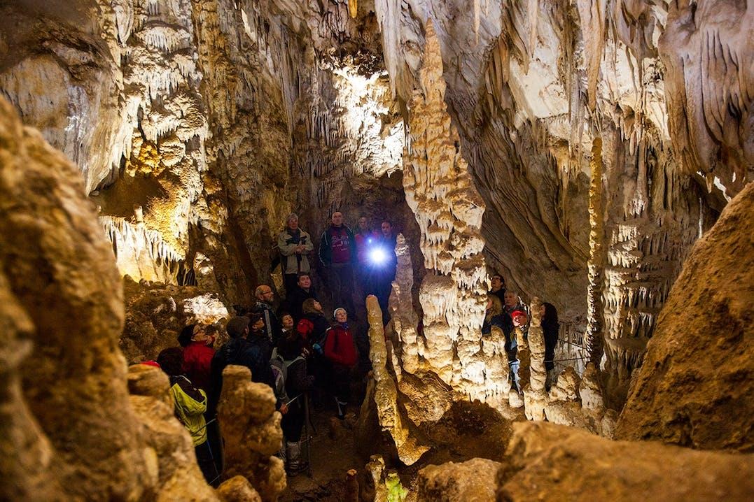Cueva del Yeso Höhle in Andalusien